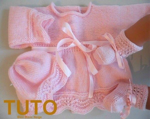 explication de tricot fait main