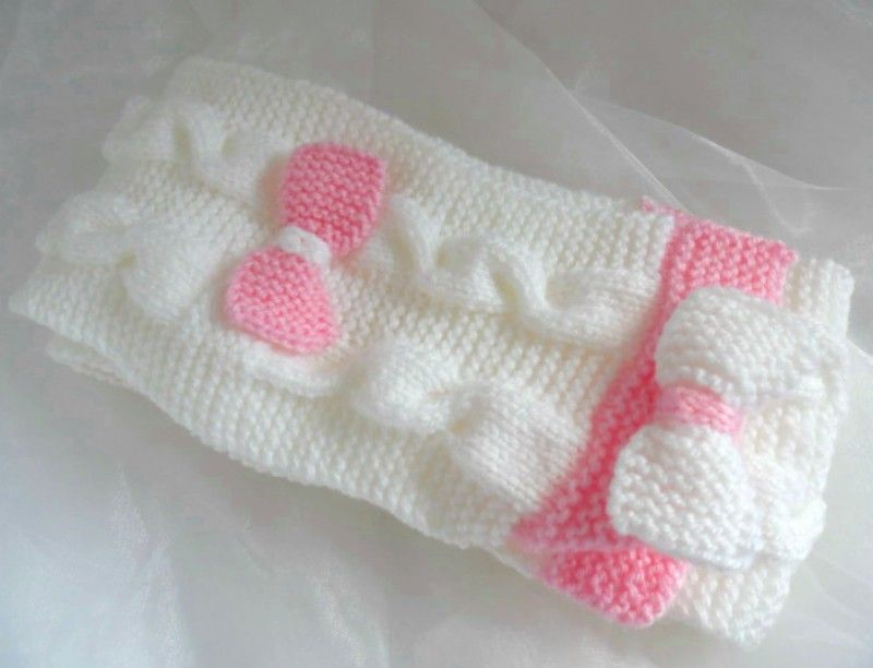 patron tricot bébé point mousse